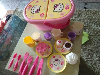 juego de picnic de Hello Kitty