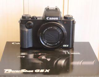 Cámara de fotos Canon PowerShot G5X