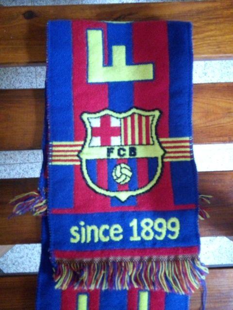 Bufanda fc barcelona de segunda mano por 8 € en Los Tomillares en ... 363f9902601