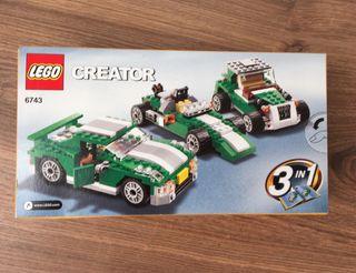 Lego creator 6743 deportivo callejero