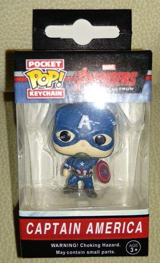 llavero funko pop Capitán América