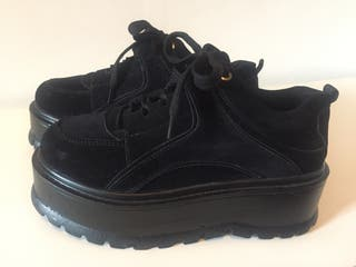 Zapatillas tipo Buffalo negras 37-38