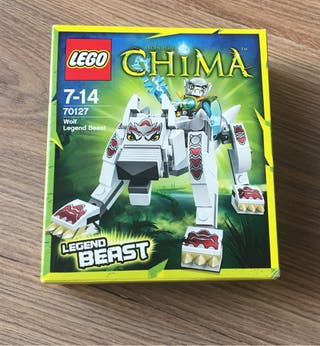 Lego Chima Ref 70127 bestia de la leyenda del lobo