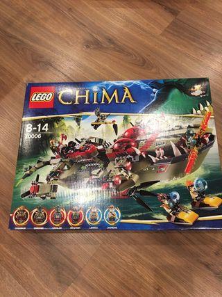 Lego Ref 70006 Chima. Buque cocodrilo de cragger