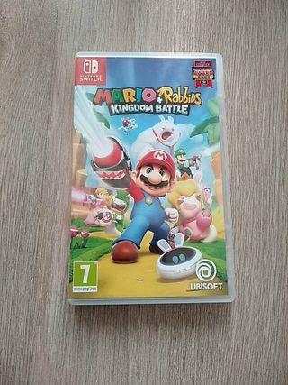 Mario+Rabbids Nintendo Switch