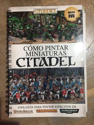 """Libro """"Como pintar figuras Citadel"""""""