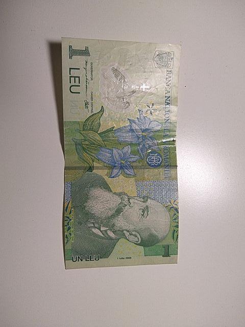 Billete Rumanía 1 leu