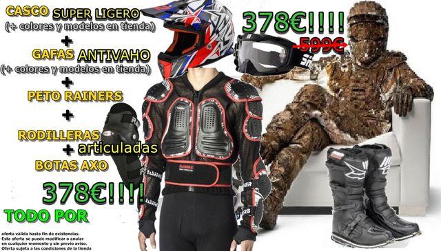 cd0bb281 Oferta ropa y equipación de cross, enduro moto de segunda mano por ...