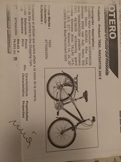 Pack de Bicicleta Completo de segunda mano por 100 € en
