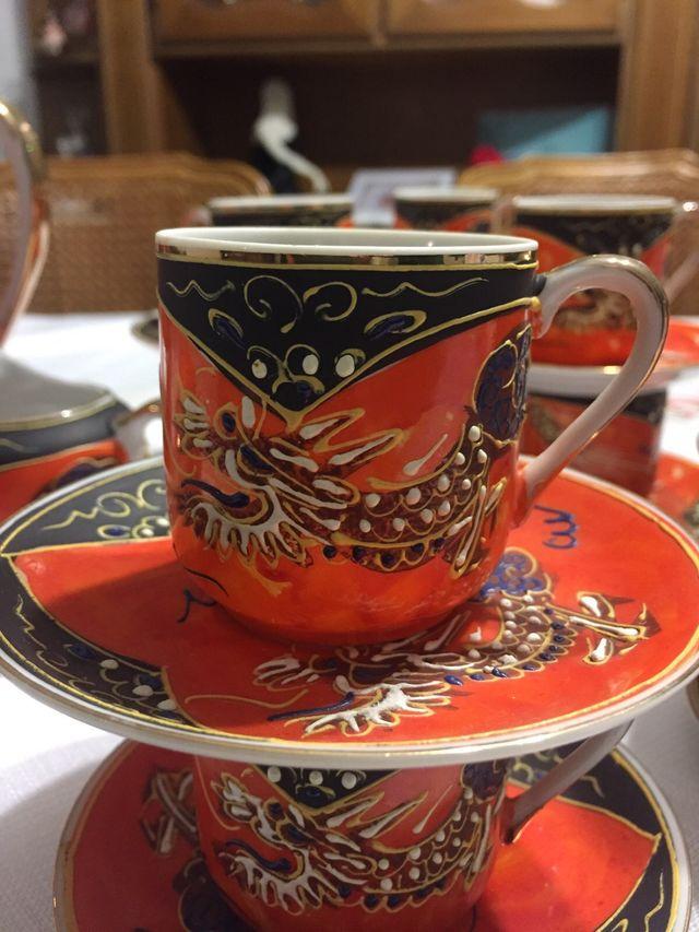 Porcelana china auténtica