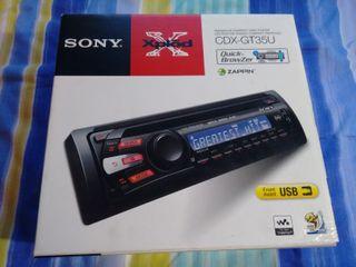 Radio CD con USB coche