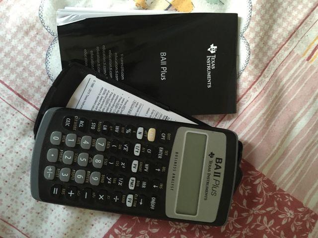 Calculadora financiera Báis Ii plus
