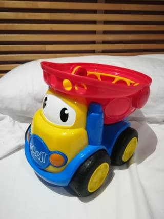 Camió bolquet de joguina