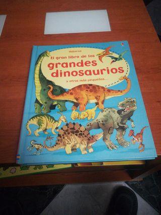 el gran libro de los grandes dinosaurios.