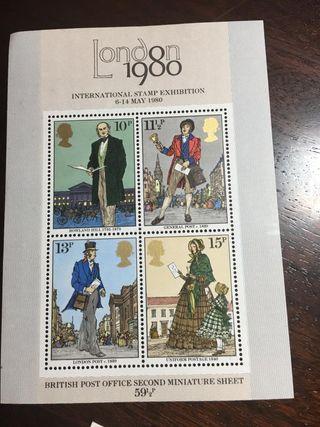 500 hojas de sellos