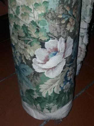 rollo vintage años 60 cretona tapicerías