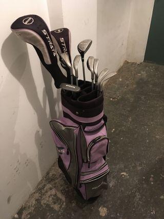 Juego de palos de golf Strata de segunda mano