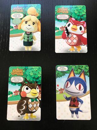 Amiibos Animal Crossing