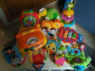 Lote juguetes bebé 1