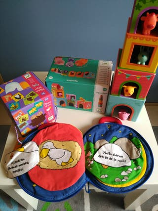 Lote juguetes bebe 3