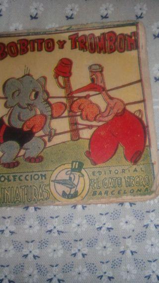 Tebeo Clásico Bobito y Trombón. Año 1939