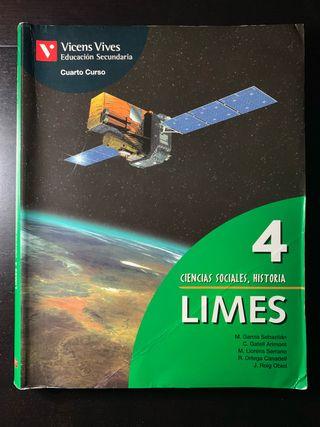 Libro Limes 4 Ciencias Sociales, Historia