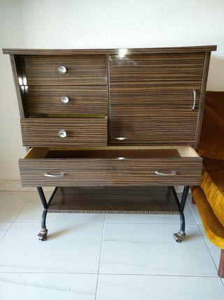 mueble bar retro vintage