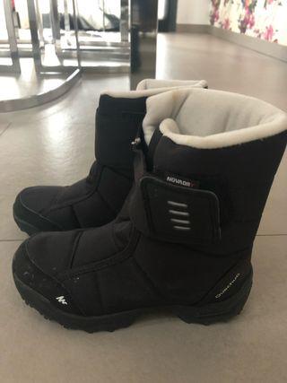 Botas paseo nieve