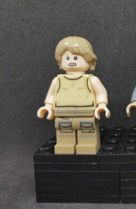 Star Wars Luke Skywalker figura PRECINTADA