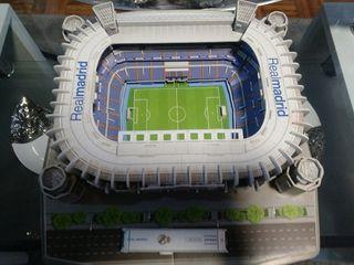 Maqueta Estadio Santiago Bernabeu