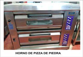 HORNO DE PIZZA - CON PIEDRA REFRACTARIA