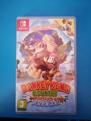 Nintendo Switch Donkey Kong Country
