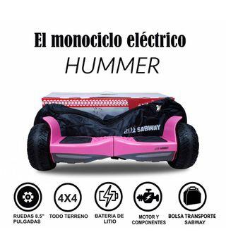Hoverboard Hummer Rosa + hoverkart gratis