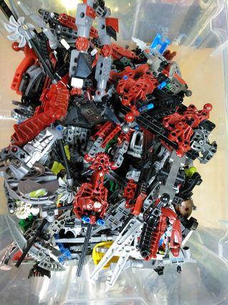 lote lego bionicle 3,1 kg