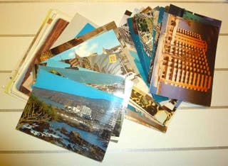 Cien postales de vistas y monumentos