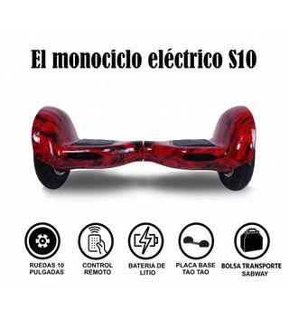 Hoverboard S10 Fuego con hoverkart gratis