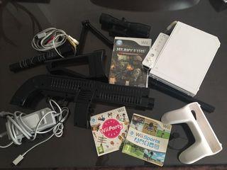 Consola Wii más juegos