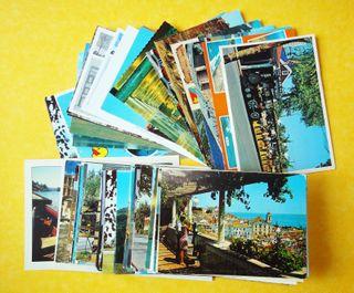 Lote de 100 postales mundiales