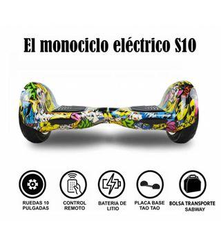 Hoverboard S10 Graffiti Urbano + hoverkart gratis