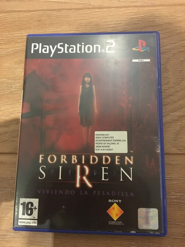 Forbidden siren y dvds calicó electronico
