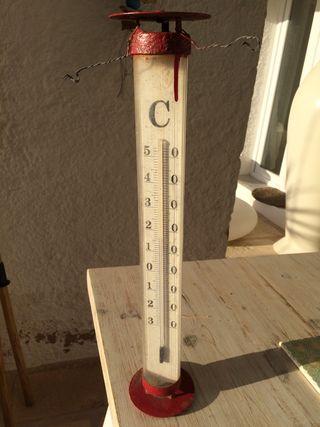 Termometro de jardín