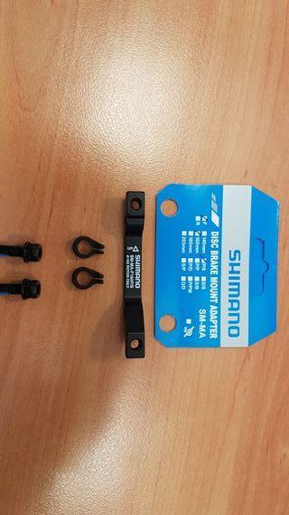 Adaptador de disco 160mm Shimano