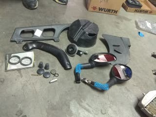Kit de matriculacion KTM