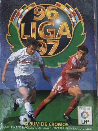 Álbum de cromos ESTE, la liga 96-97