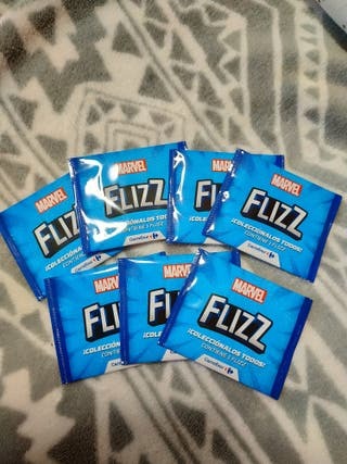 Lote 7 Flizz Marvel sin abrir