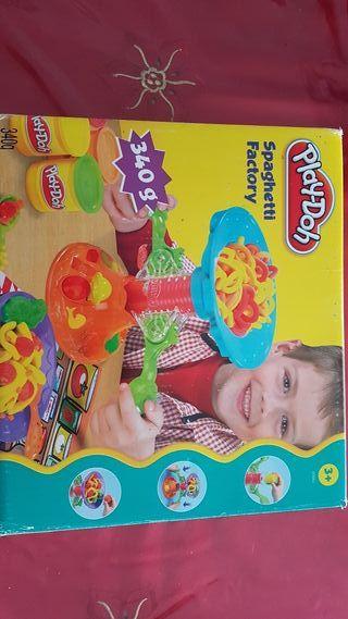 Spaghetti factory play-doh
