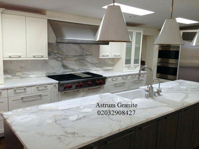 Buy Statuarietto Marble Kitchen Worktop in London
