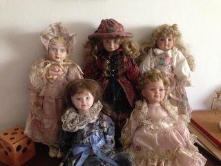 Colección muñecas de porcelana