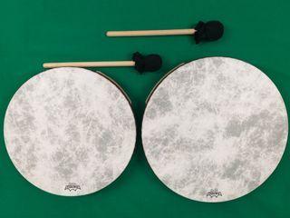 Tambores chamanicos NUEVOS con mazas incluidas