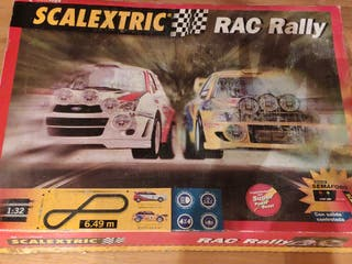Scalextric RAC Rally completo y con 2 coches